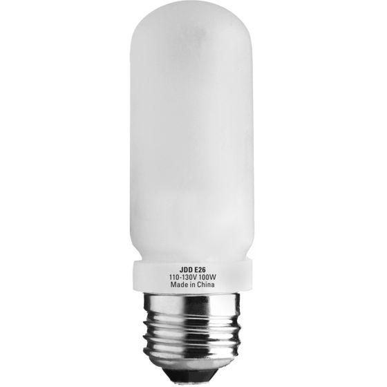 100 Watt T10 Halogen 120V E26 E27 Medium Base Clear Double Envelope Bulb NEW