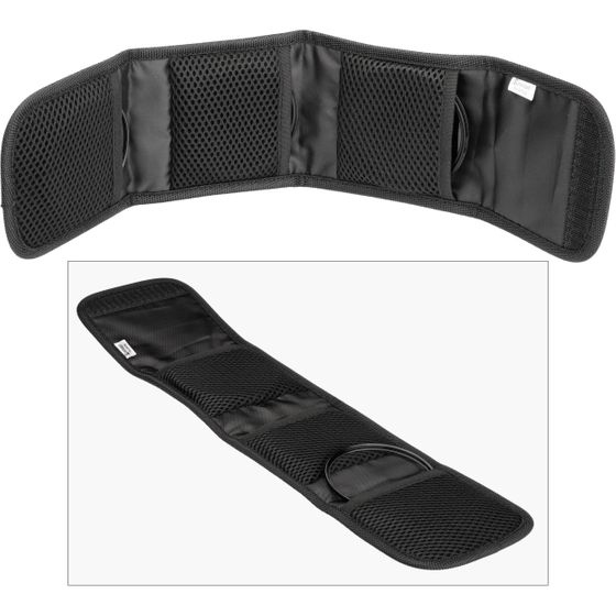 Sensei Three Pocket Filter Pouch Up to 105mm
