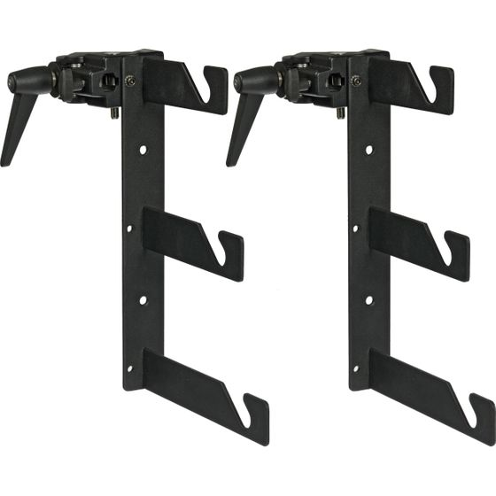 VPD-H3CSC Triple Background Holder Hooks with Super Clamps (Pair)