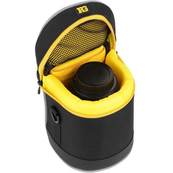 4 Pack Black Ruggard Lens Case 4.75 x 4.5