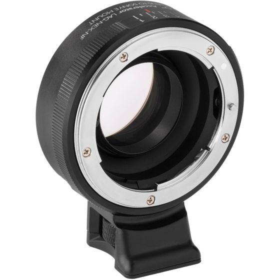 Sony E Mount Full Frame Lenses >> Vello Lag Nex Nf Nikon F Lens To Sony E Mount Camera Accelerator