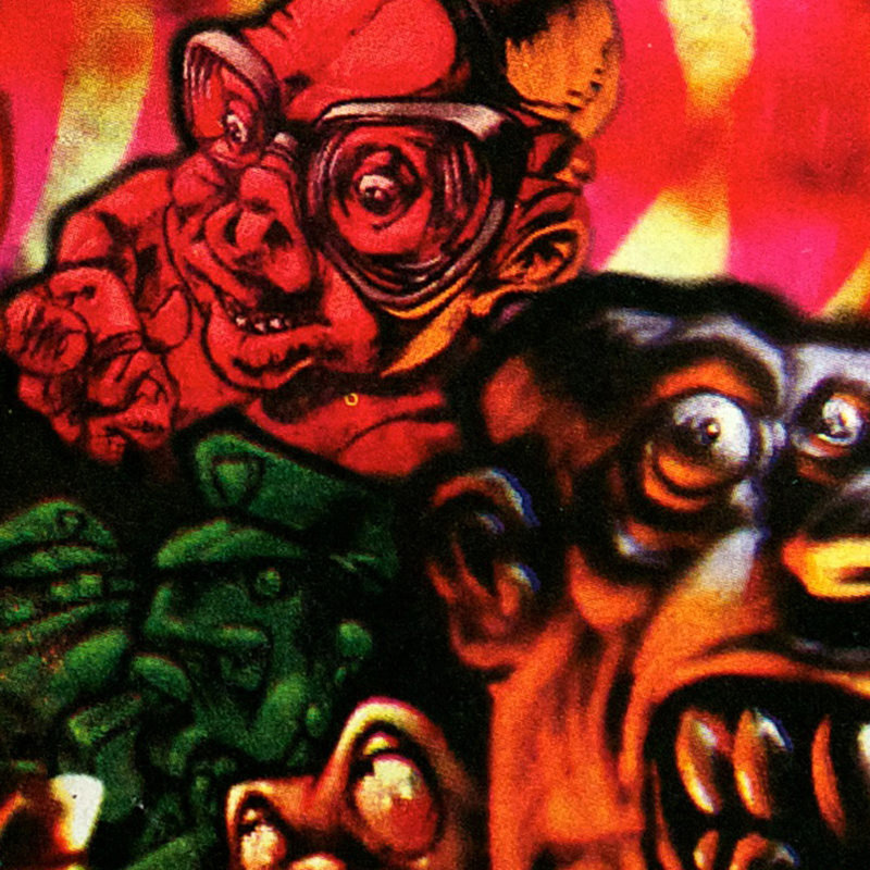 1 Tox: Bimestriel 10 FF Nº4 - Juin - Juillet - Août 1992