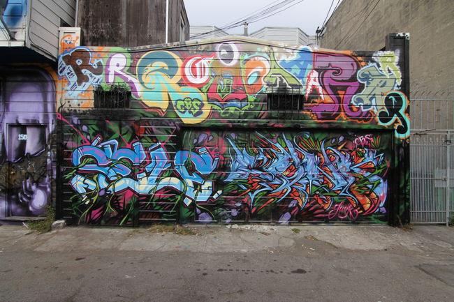 Piece Par Roar, Self, The Gunk - San Francisco (CA)