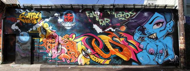 Fresques Par Doper, Mesnger, Poison - San Francisco (CA)