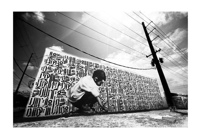 Fresques Par El Mac, Retna - Miami (FL)