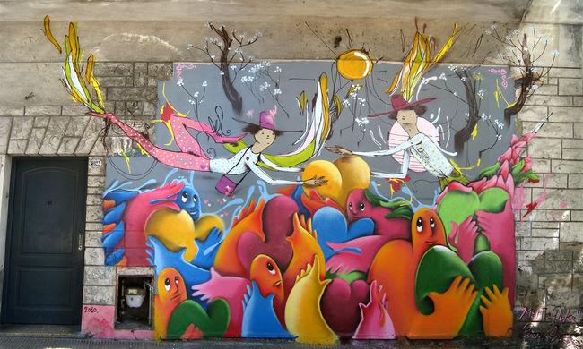 Fresques Par Puke, Aire - Buenos Aires (Argentine)
