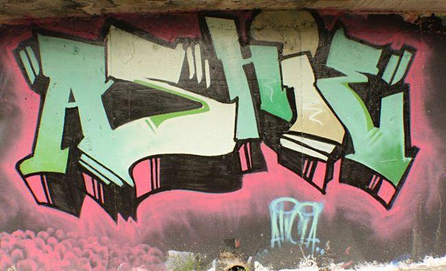Street Art Par Ashteristic - Kuala Lumpur (Malaisie)