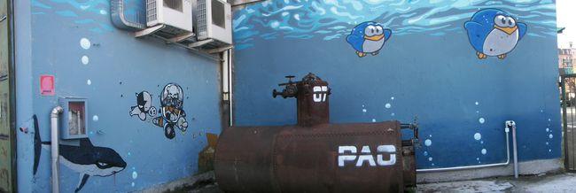 Street Art Par Tvboy, Pao  - Bollate (Italie)