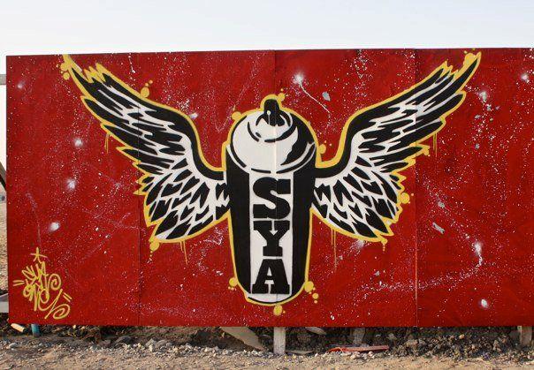Street Art Par Sya One - Dubai (Emirats Arabes Unis)