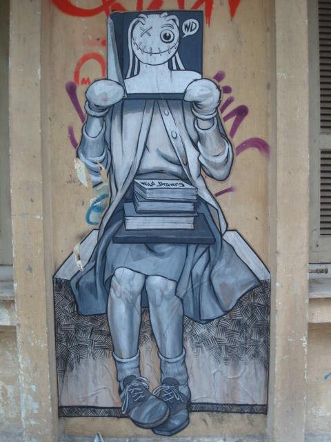 Street Art Par  Wd - Thessalonique (Grece)