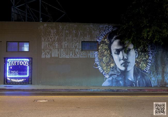 Fresques Par El Mac, Retna - Los Angeles (CA)
