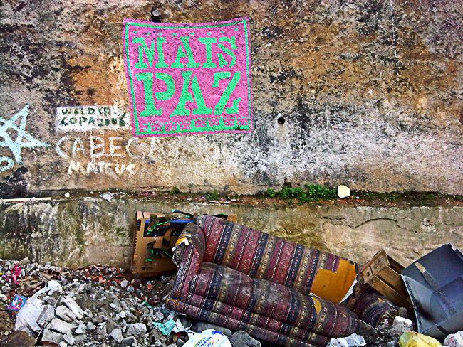 Street Art Par Maspaz - Rio De Janeiro (Bresil)