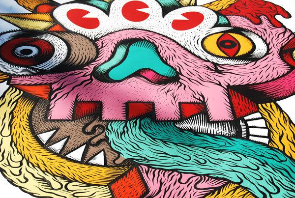 Piece Par Stephane Eck - Pekin (Chine)