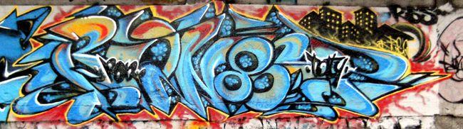 Street Art Par Ron 86 - Quito (Equateur)