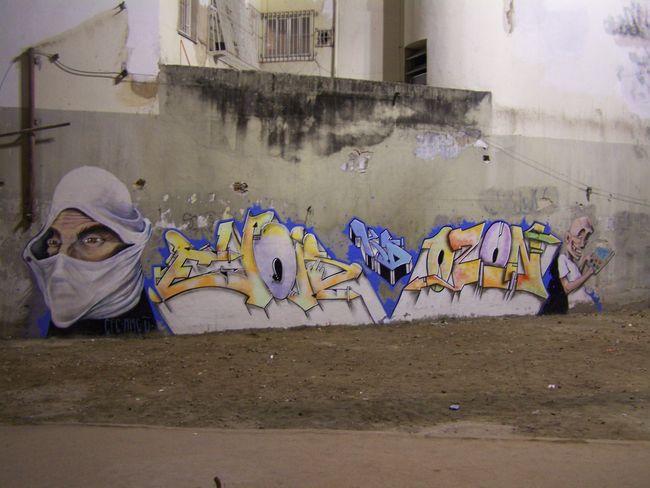 Fresques Par Ozon, Meton, Wys - Rio De Janeiro (Bresil)