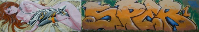 Fresques Par Bowa, Sper - Dunkerque (France)
