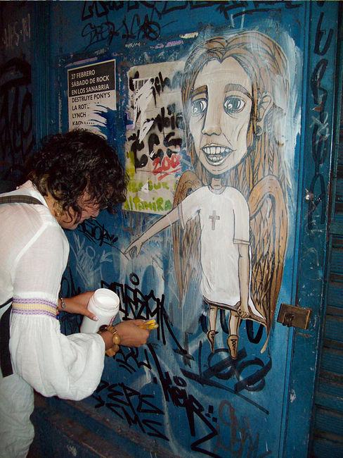 Street Art Par Miss Hask - Caracas (Venezuela)
