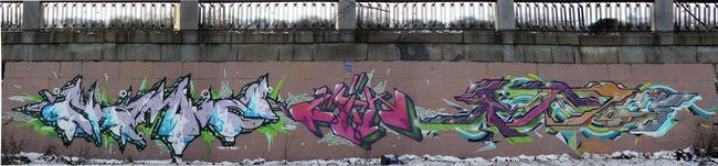 Fresques Par Cik, Nam 2 - Kiev (Ukraine)