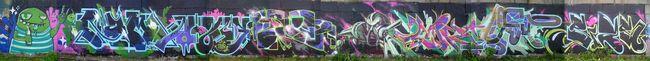 Fresques Par Cik, Nam 2, Khlor, Piar, Sahar, Atos, Bosie - Kiev (Ukraine)