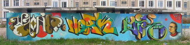Fresques Par Waone, Cik, Neak - Kiev (Ukraine)
