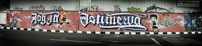 Fresques Par Dyeget, Etz372 - Yogyakarta (Indonesie)