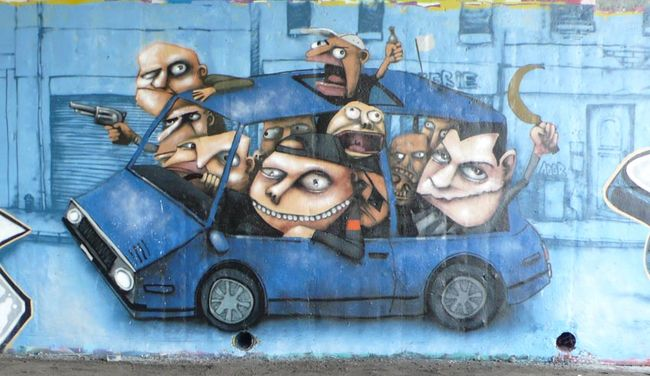 Big Walls By Ador - Montreal (France)