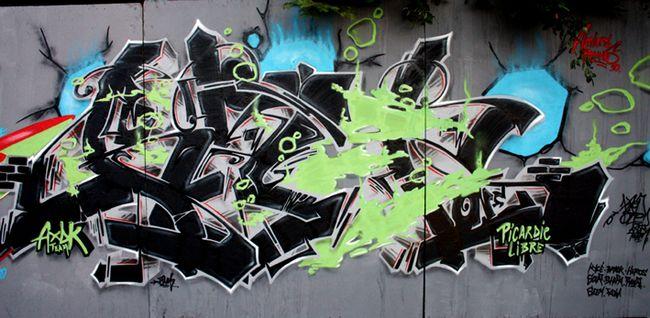 Fresques Par Kzed - Rennes (France)