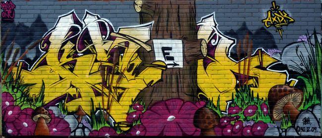 Big Walls By Kzed - Amiens (France)