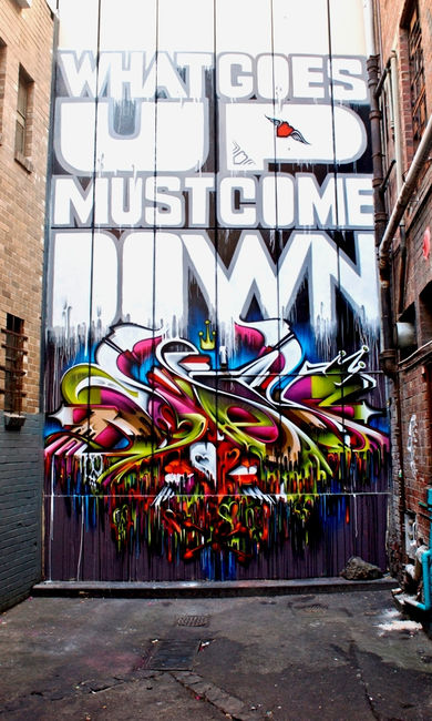 Fresques Par Does - Melbourne (Australie)