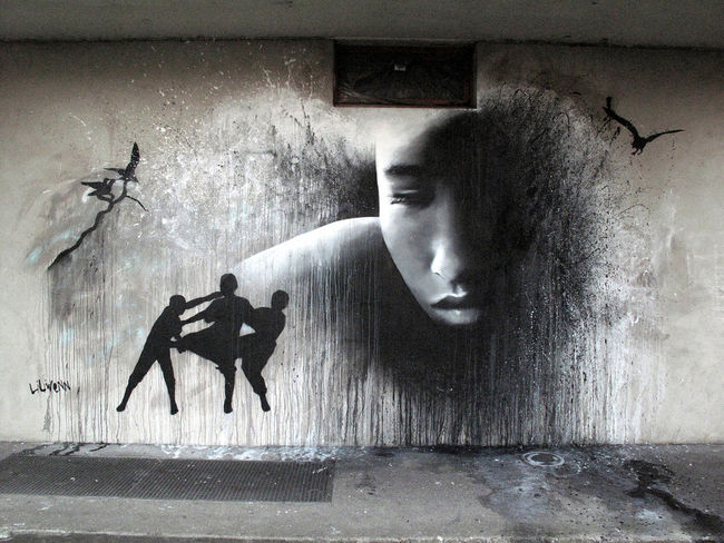 Street Art Par Liliwenn - Vitry-sur-Seine (France)