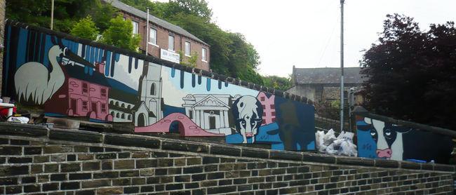 Street Art Par Theo - Halifax (Royaume Uni)