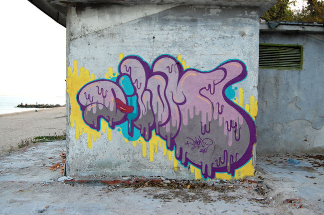 Throw Ups Par Dilom - Burgas (Bulgarie)