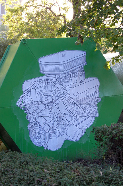 Street Art Par Dilom - Burgas (Bulgarie)