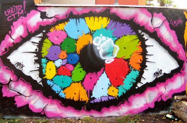 Street Art Par Nbio - Dresde (Allemagne)