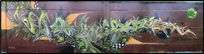 Fresques Par Deker, Ikone, Smer, Yoze - Lille (France)