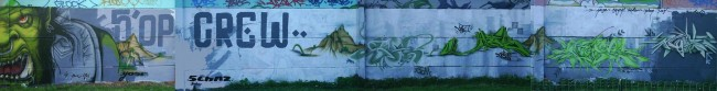 Fresques Par Deker, Yoze - Lille (France)
