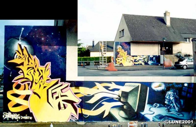 Big Walls By Lune - St-Paimboeuf (France)
