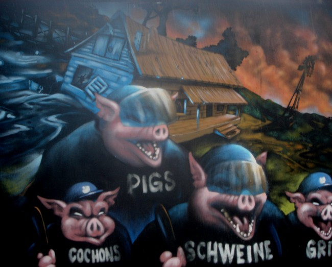 Big Walls By Caligr, Debs, 88 Ball - Roskilde (Denmark)
