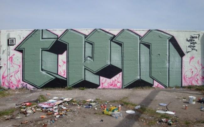 Piece By Caligr, Debs - Copenhagen (Denmark)