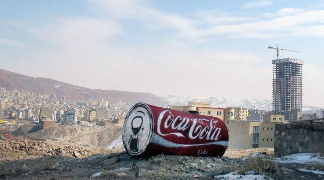 Street Art Par Sot, Icy - Tabriz (Iran)
