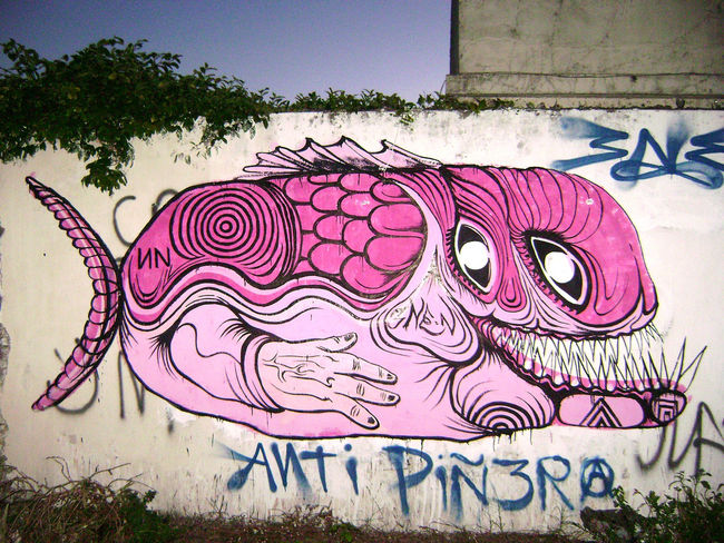Street Art Par Ene Ene - La Plata (Argentine)