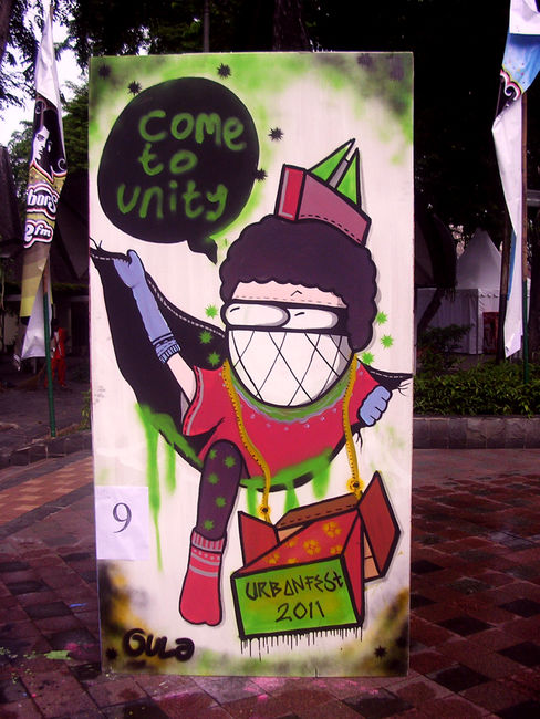 Personnages Par Gula Ly - Jakarta (Indonesie)