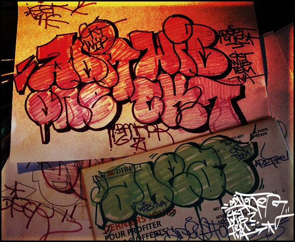 Throw Ups Par Adit, Disek1 - Paris (France)