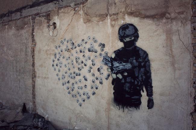 Street Art Par Frz - Tabriz (Iran)