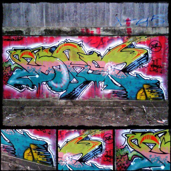 Street Art Par Runimatta - Magelang (Indonesie)