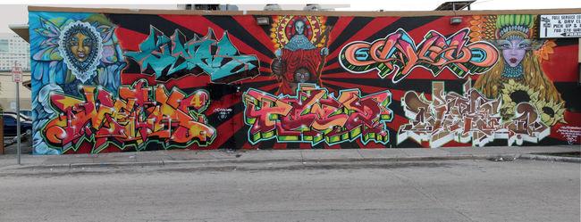 Fresques Par Siner, Meta 4, Teez - Miami (FL)