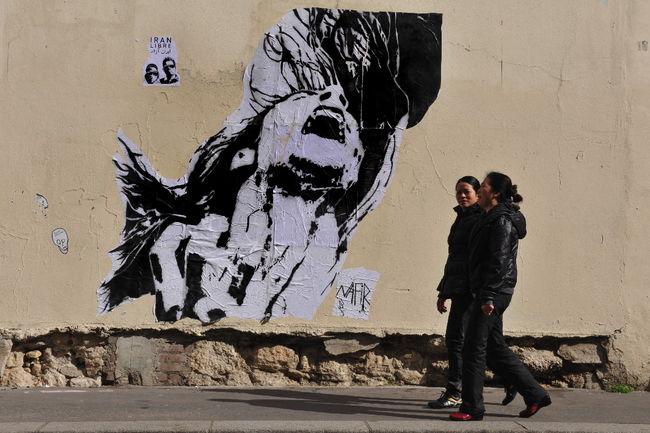 Street Art Par Nafir - Paris (France)