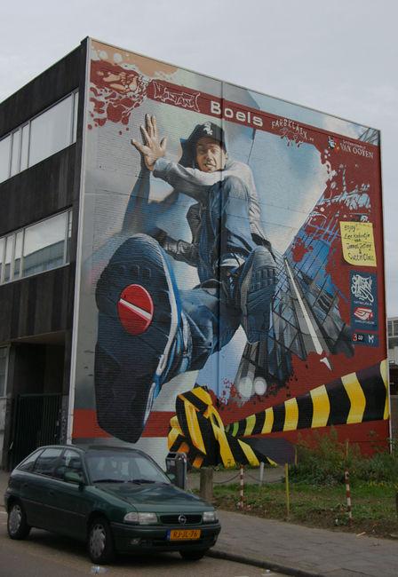 Fresques Par Jetlag - Heerlen (Pays-Bas)
