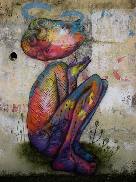Street Art Par Calango - Salvador (Bresil)