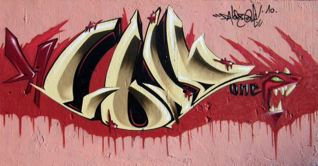 Piece By Da Lord One - Nantes (France)